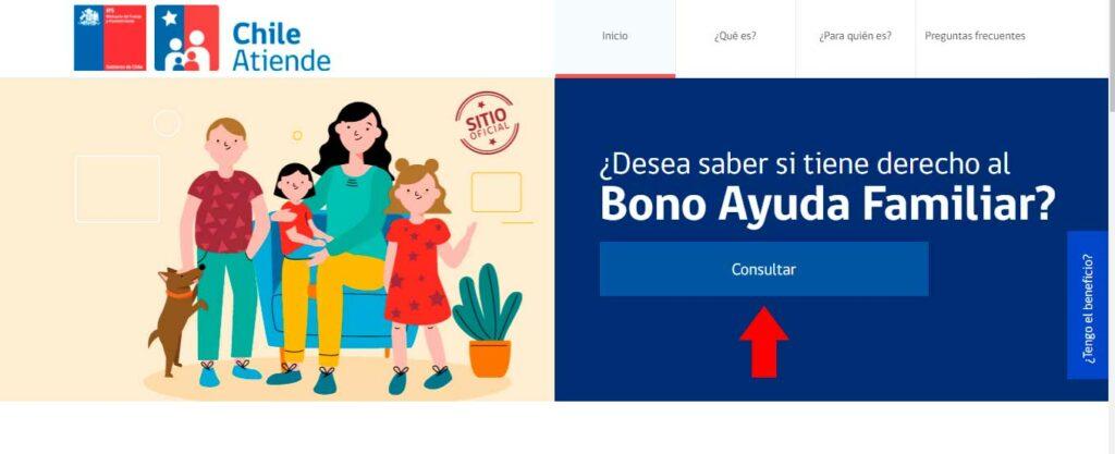 bono ayuda familiar 2020, bono marzo 2020 consultar si soy beneficiario con el rut por internet