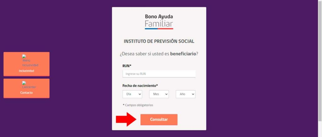 consulta bono ayuda familiar, revisar bono ayuda familiar, bono familiar 2020, bono ayuda familiar 2020 rut