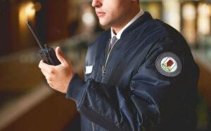 Guardia de seguridad en Chile