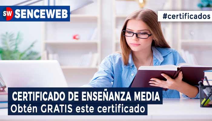 Certificado de Enseñanza Media 2021