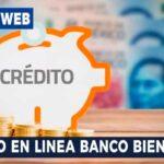Credito en línea banco bienestar