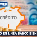 Credito en linea Banco bienestar