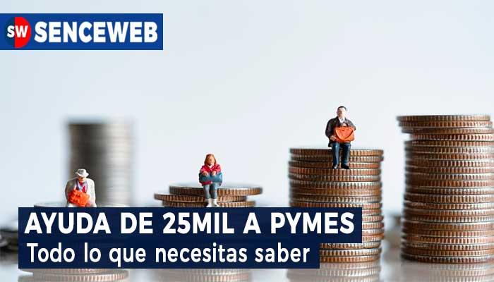 Ayuda de 25mil a Pymes